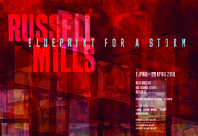 NCAD Gallery presents designer & multimedia artist Russell Mills exhibition 'Blueprint For A Storm'.