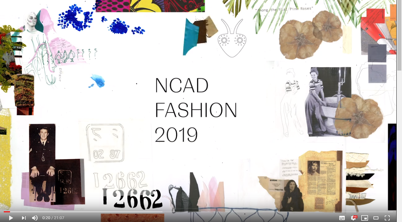 NCAD Fashion Film 2019