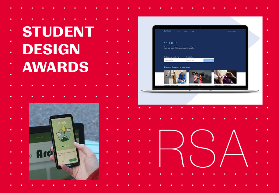 6 NCAD students nominated for 2019/20 RSA Student Design Awards