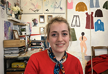 NCAD student awarded residency